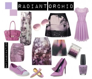 Radiant Orchid - the colour of 2014