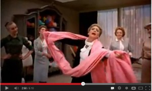 """Think Pink"", which featured in the Audrey Hepburn film ""Funny Face"" in 1957"