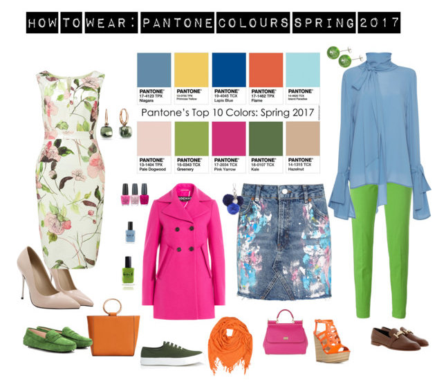 Pantone Colour 2017 :Greeneryr Spring 2017