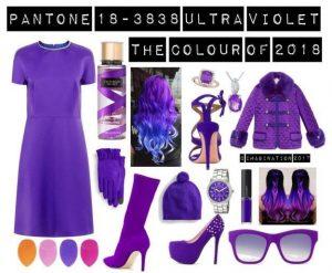 Pantone Colour of 2018 Ultraviolet