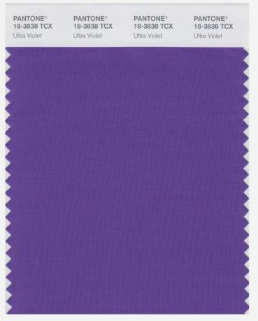 Pantone Colour 2018 Ultraviolet