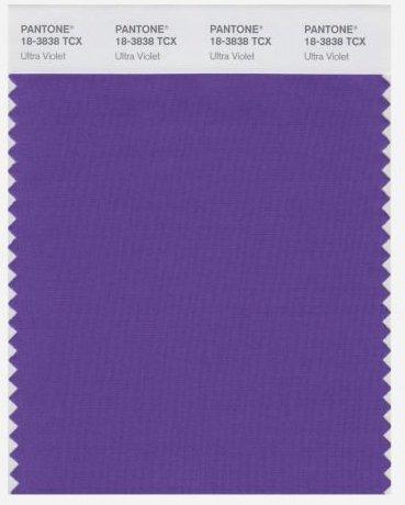 Pantone Colour 2018 Ultraviolet