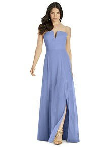 Dessy Periwinkle Dress