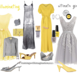 Pantone Colours 2021: Yellow and Grey
